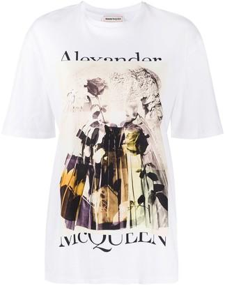 Alexander McQueen graphic print T-shirt