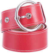 Prada Pebbled Leather Belt