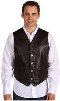 Roper Leather Notch Collar Vest