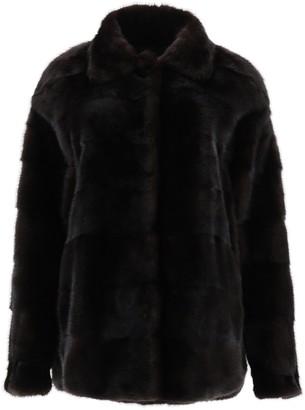 Simonetta Ravizza Collared Fur Jacket