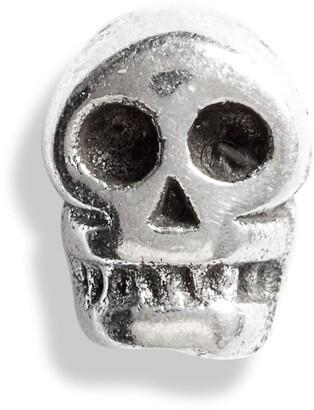 Bing Bang Tiny Skull Stud Earring