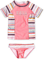 Roxy 2-Pc. Little Indi Swim Set, Little Girls