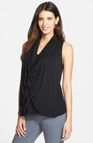 Maternal America Women's Draped Maternity/nursing Top