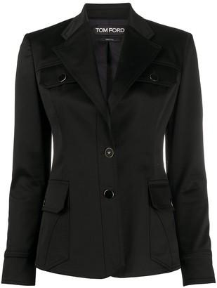 Tom Ford Sahariana tailored blazer