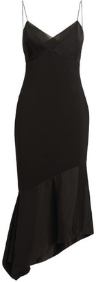Victoria Beckham Asymmetric Strappy Dress