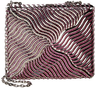 Judith Leiber Striped Square Clutch