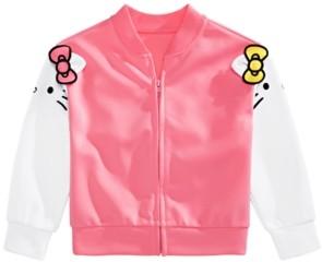 Hello Kitty Little Girls & Mimmy Bomber Jacket