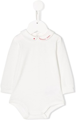 Il Gufo embroidered collar body