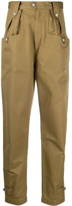 Etoile Isabel Marant Pulcie carrot-fit trousers