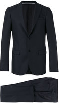 Z Zegna slim-fit suit - men - Cupro/Wool - 48