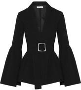 Rejina Pyo - Claire Belted Cloqué Blazer - Black
