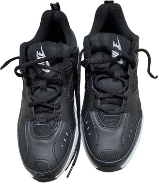Nike Monarch Black Patent leather Trainers