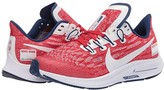 Nike Air Zoom Pegasus 36 (Big Kid) (University Red/Multicolor/White) Kids Shoes