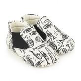 Baby Boys White Trombone Pre Walker Shoes