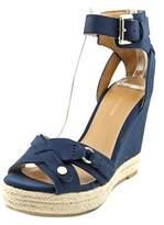 Tommy Hilfiger Velvet 2 Women Open Toe Synthetic Wedge Sandal.