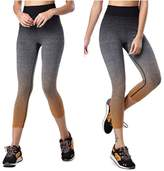Happydog Yoga Pants Tights Running Leggings Tummy Control Exercise Pants Women(M, )