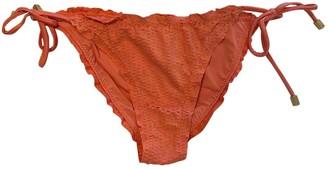 Vix Paula Hermanny Pink Lycra Swimwear for Women