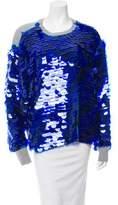 Preen by Thornton Bregazzi Preen Hoxton Paillette Sweater w/ Tags