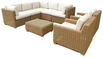 Eddie Bauer Traverse Deep Seating Group with Sunbrella Cushions