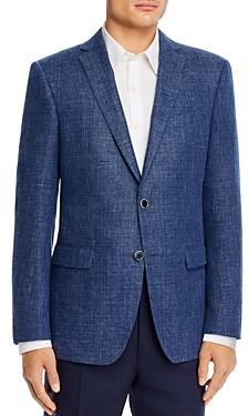 John Varvatos Bleecker Textured Melange Slim Fit Sport Coat