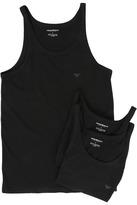 Emporio Armani 3-Pack Tank Top Men's Clothing