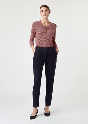 Hobbs Petite Gael Wool Blend Trouser