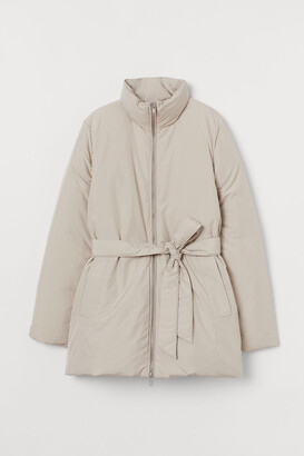 H&M Belted Down Jacket