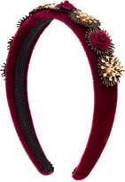 Regina Velvet Flower Headband