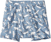 Hanna Andersson North Air Animal-Print Organic Cotton Boxer Briefs