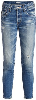 Moussy Velma Distressed Skinny Jeans