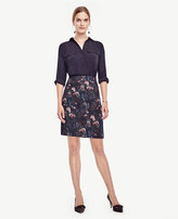 Ann Taylor Petite Night Garden Skirt