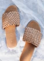 Lokoa Leather Lokoa Sonoma Slides Tan