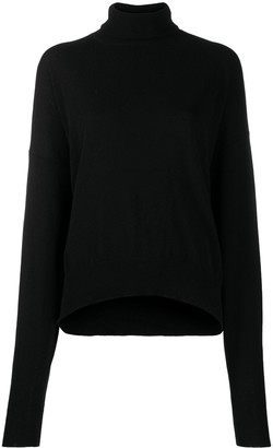Laneus Roll Neck Slouched Jumper