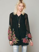Free People He Loves Me Floral Dress