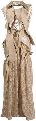 Junya Watanabe Deconstructred Trench & Lace Dress