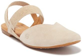 Børn Coquille Natural Suede Sandal