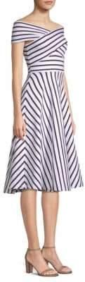 Milly Rivera Stripe Knit Dress