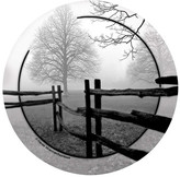 Thirstystone Fence in the Mist Occasions Coasters Set