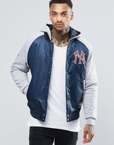 Majestic Yankees Satin Jacket with Hood