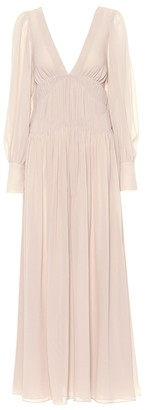Stella McCartney Carleigh silk maxi dress
