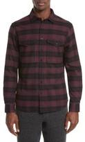 Wings + Horns Men's Plaid Flannel Shirt