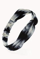 Forever 21 Knotted Tie-Dye Headwrap