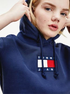 Tommy Hilfiger Tommy Badge Cropped Fit Hoody