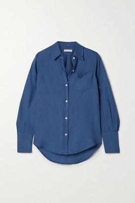 Alex Mill Standard Linen Shirt - Blue