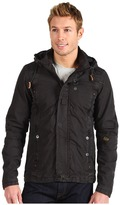 G Star G-Star - CO Recolite Hooded Overshirt L/S (Raven) - Apparel