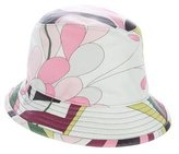 Emilio Pucci Abstract Bucket Hat