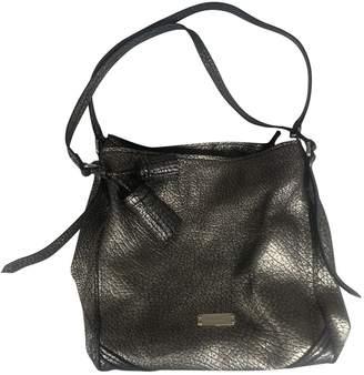 Burberry Gold Leather Handbags