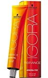 Schwarzkopf Igora Vibrance Tone & Tone Hair Color 9-88 (Extra Light Blonde Red Extra)