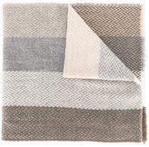 Eleventy striped woven scarf