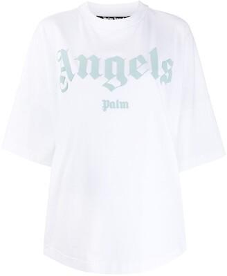 Palm Angels embossed logo T-shirt
